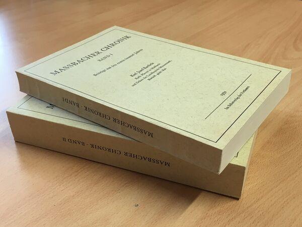 Maßbacher Chronik I + II seite